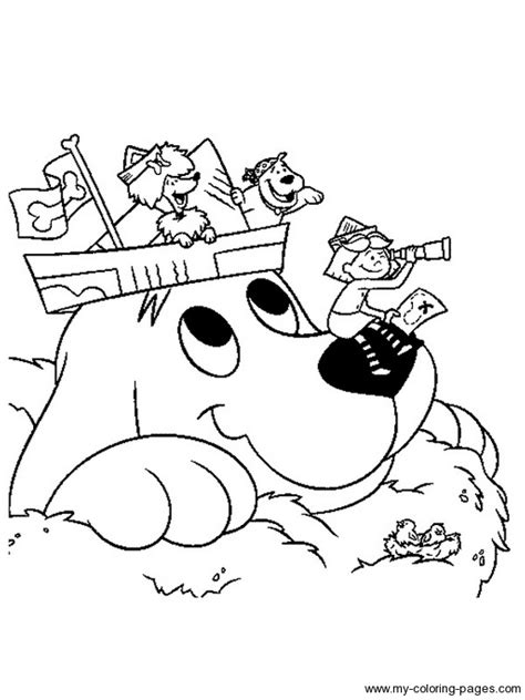 coloring page clifford big red dog 39 cute clifford the big red dog coloring pages printable