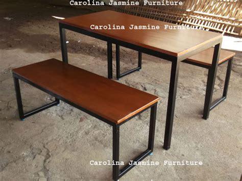 Jual Meja Kursi Cafe Di Bandung kursi kayu rangka besi berbagai macam furnitur kayu