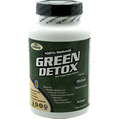Best Detox Supplements For Test by Green Detox By Integrated Supplements