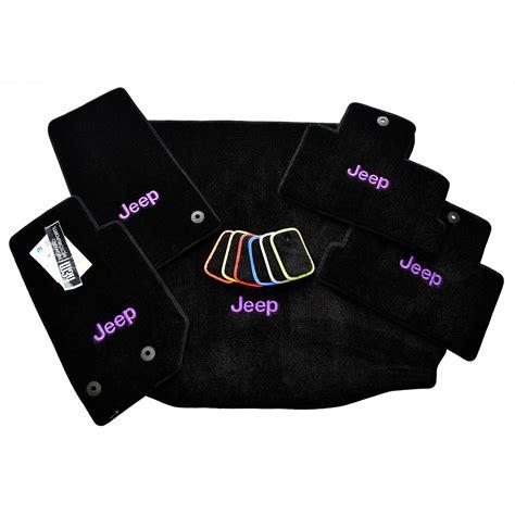 jeep wrangler floor mats cargo mat set
