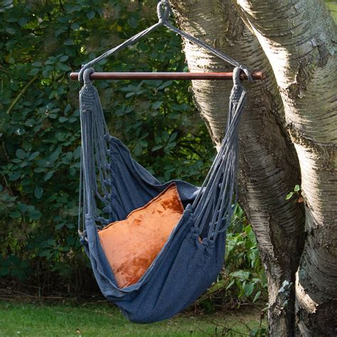 hammock swing seat charcoal hammock swing seat by ella james