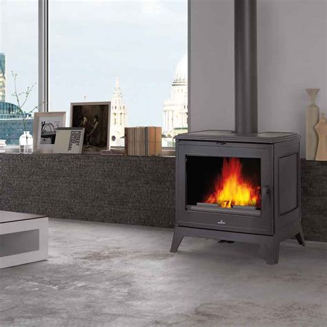 freestanding woodburning fireplace calore free standing wood burning fireplaces
