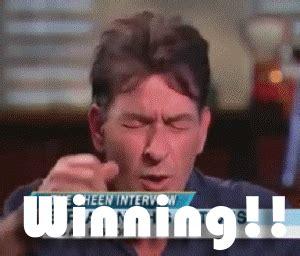 Charlie Sheen Winning Meme - funny winning gif sweet miles