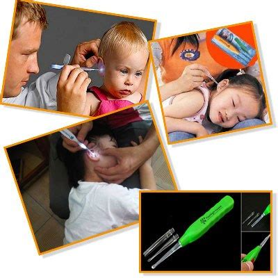 Earpick With Flashlight Korek Kuping Nyala Cotton Bud jual flashlight earpick penerangan dan pembersih telinga