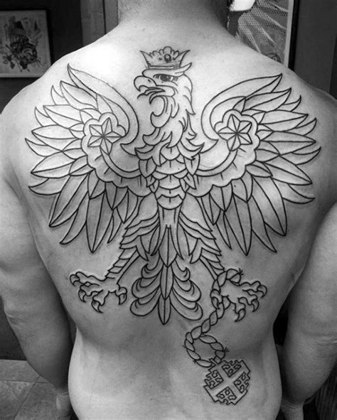 german tattoos for men 50 eagle back designs for flying bird ink ideas