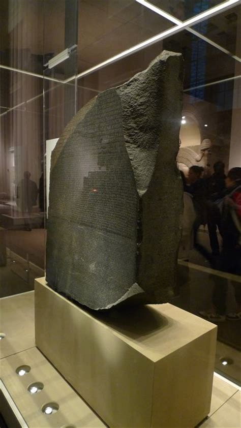rosetta stone how long travel photo of the week rosetta stone london uk
