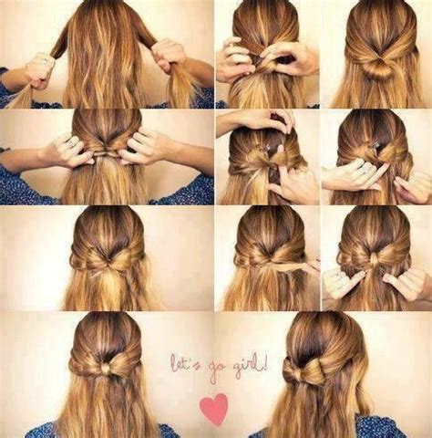hairstyles how to do a bow bow hairstyle on tumblr