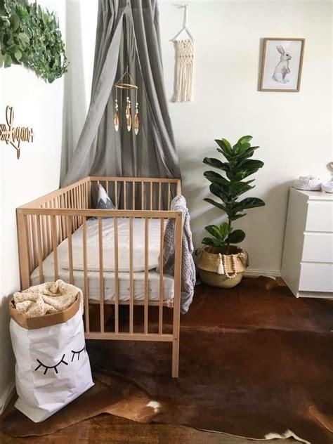 Cowhide Rug Nursery - nursery neutral canopy cowhide rug gender neutral