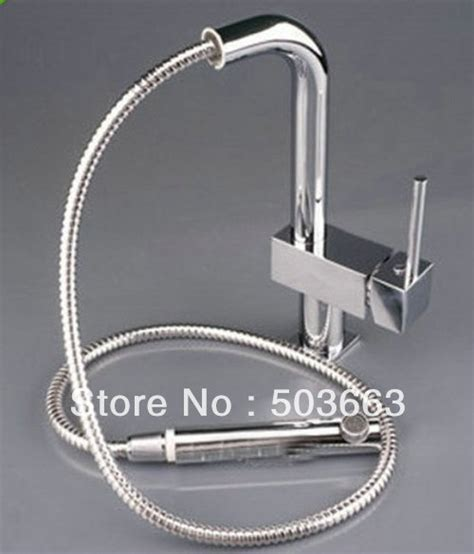 discount kitchen faucets pull out sprayer wholesale new 1000mm brass kitchen faucet basin sink pull out spray single hang mixer tap s 834