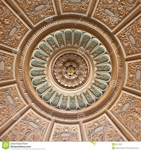 decorated ceiling decorated palace ceiling stock image image of model