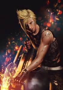 Blind Drawing Game Final Fantasy Xv Prompto Argentum By Penguinfrontier