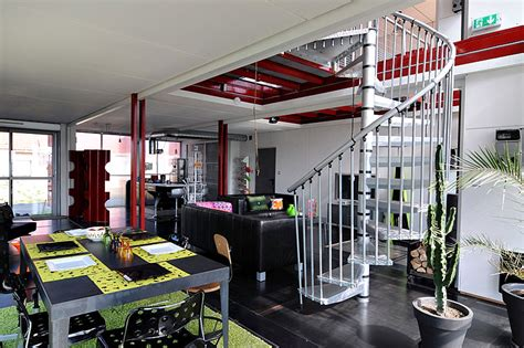 Interior Design Shipping Container Homes by Maison Container By Partouche Homedsgn