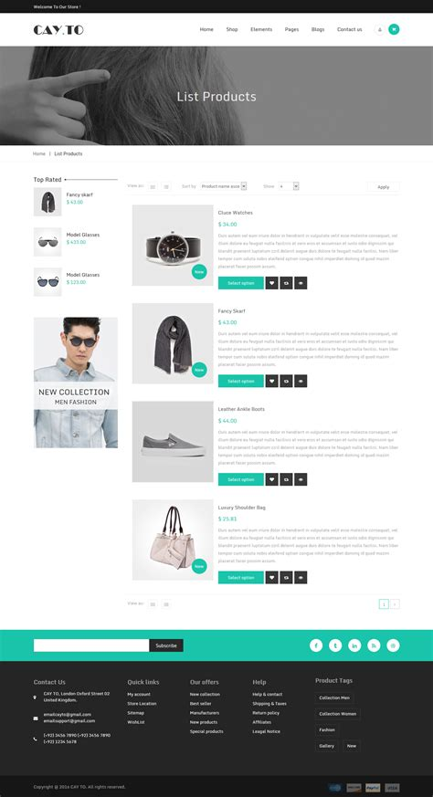 list themes drupal cayto responsive drupal theme by webcrest themes
