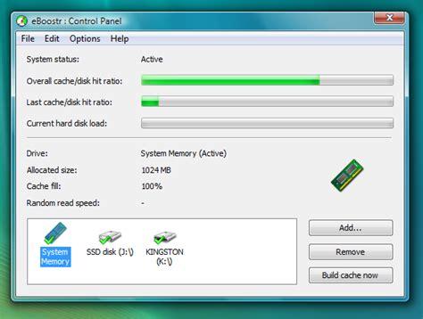 Ram Untuk Windows Xp cara menambah ram dengan ebooster windows xp dunia informasi