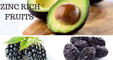 fruit zinc 15 zinc rich fruits to eat every day for better health
