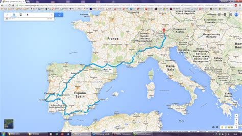 Motorradtransport Nach Spanien portugal