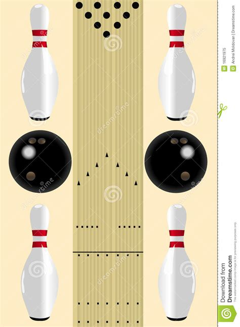 bowling alley diagram bowling diagram royalty free stock photo image