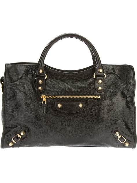 And Balenciaga Bag by Lyst Balenciaga Arena Classic City Bag In Black