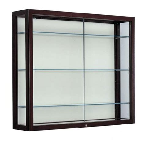 all heirloom series wall mount display cases by waddell