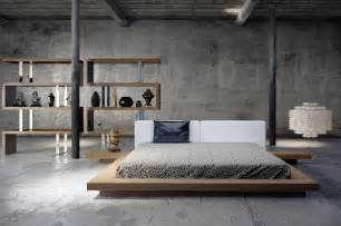 Low Bed Frame Designs Japanese Platform Bed Furniture Haikudesigns