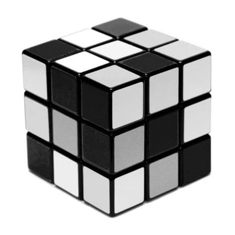 black white and shades of grey rubik s cube breaking binaries more or less