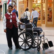 Emirates Wheelchair Assistance | airports in a wheelchair