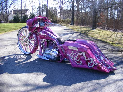 purple harley bagger   Google Search   Baggers and Bikes