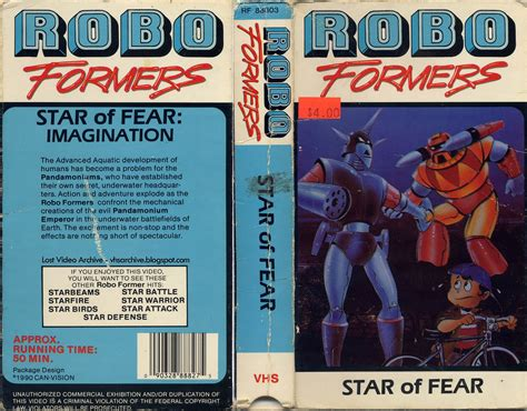 star of fear star 0802775888 robo formers