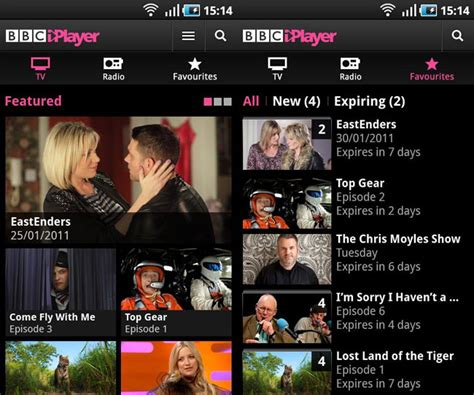 iplayer android app programmes iplayer for android released