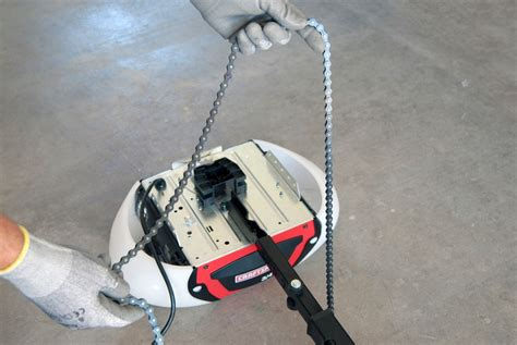 Garage Door Opener Cable How To Replace The Chain And Cable Assembly On A Chain