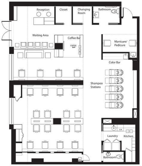 beauty salon floor plan blueprints for salons joy studio design gallery best