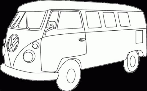 volkswagen hippie van clipart vans clipart volkswagen van pencil and in color vans