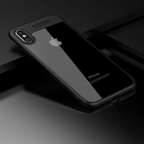 coque iphone x iphone 10 contour auto focus ultimate slim noir