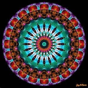 colorful mandala colorful no 9 mandala digital by