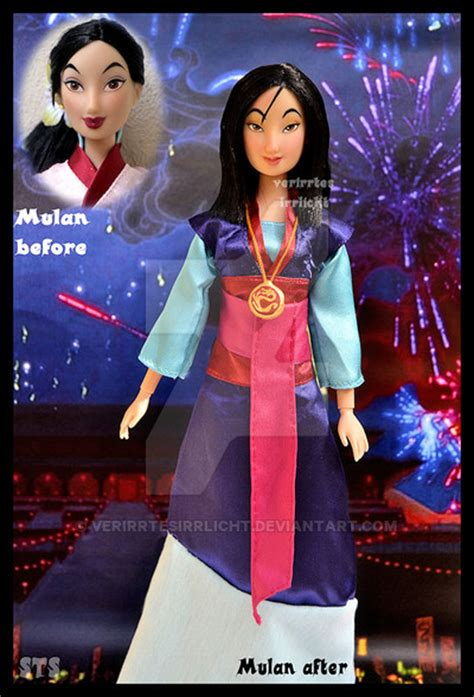 0008126186 the girl who saved the ooak mulan doll the girl who saved china by