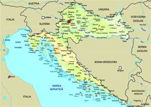 World Map Croatia by Map Of Croatia Maps Worl Atlas Croatia Map Online Maps