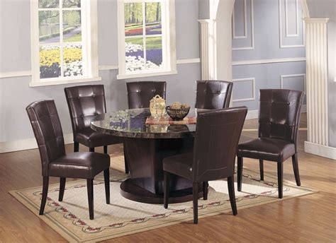 Round Marble Dining Table And Chairs Loccie Better Homes Dining Table And Chairs Marble