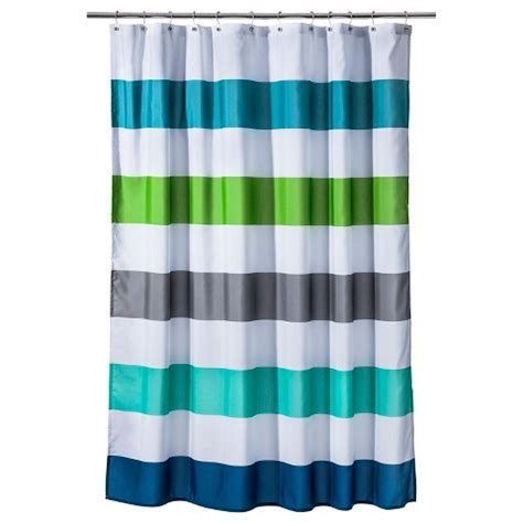 Circo Cool Rugby Stripes Shower Curtain Target
