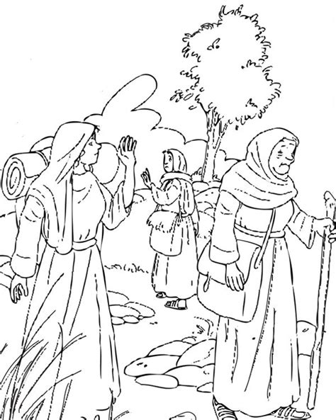 free bible coloring pages ruth 61 best images about bible ruth on maze