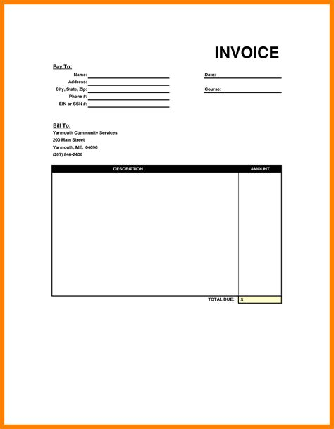 Job Resume Format For Doctors by 6 Blank Invoice Receipt Resumed Job