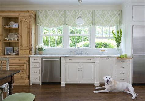 Kitchen Cabinet Treatments Window Treatments Nyc Kitchen Traditional With Wood