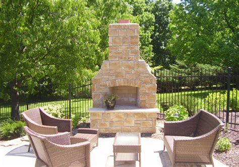 Outdoor Brick Fireplace Kits by The Advantages Of Outdoor Fireplace Kits Home