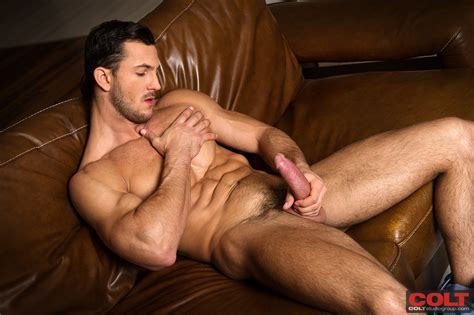 Quickie Buck Santiago Strokes It For Colt Manhunt Daily
