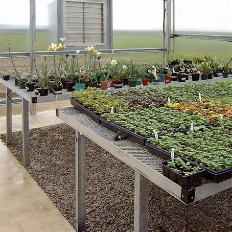 greenhouse benches commercial fixed steel greenhouse bench commercial growing metal benches greenhouse megastore