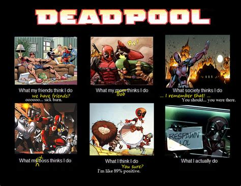 Deadpool Funny Memes - deadpool meme by hellzguardean on deviantart