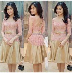 Dress Brokat Motif 3d kumpulan foto model baju kebaya anak modern trend baju