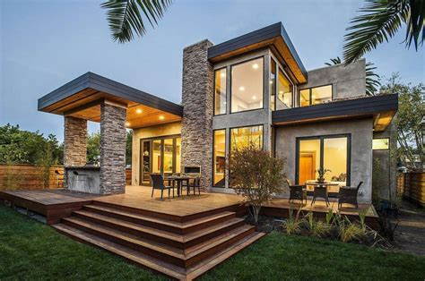 modern home exterior amazing stone house designs to modern house stone exterior