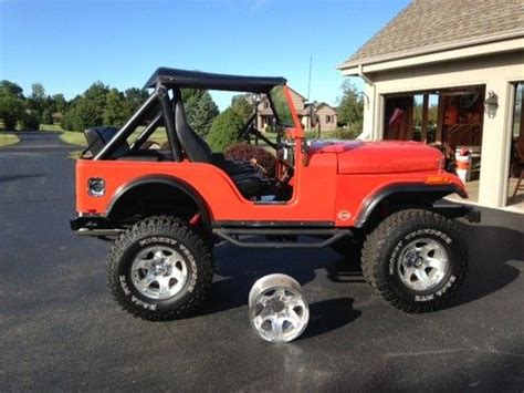 1975 Cj5 Jeep Sell Used 1975 Jeep Cj5 Awsome In Eagle Wisconsin