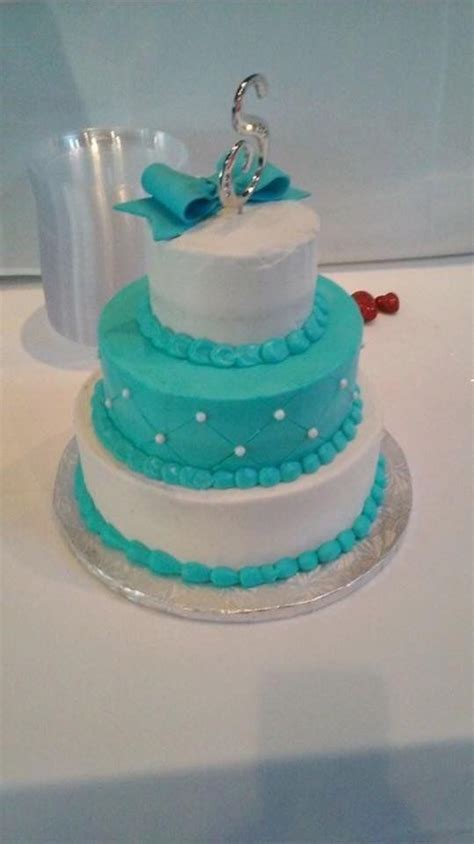 Cake from Sam's Club   turquoise wedding pictures