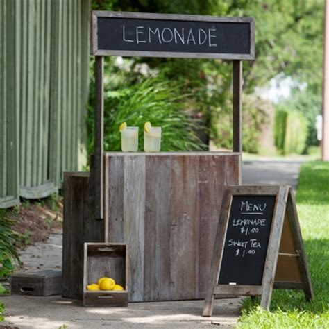 Park Hill Home Decor by Park Hill Collection Lemonade Stand Lw3025